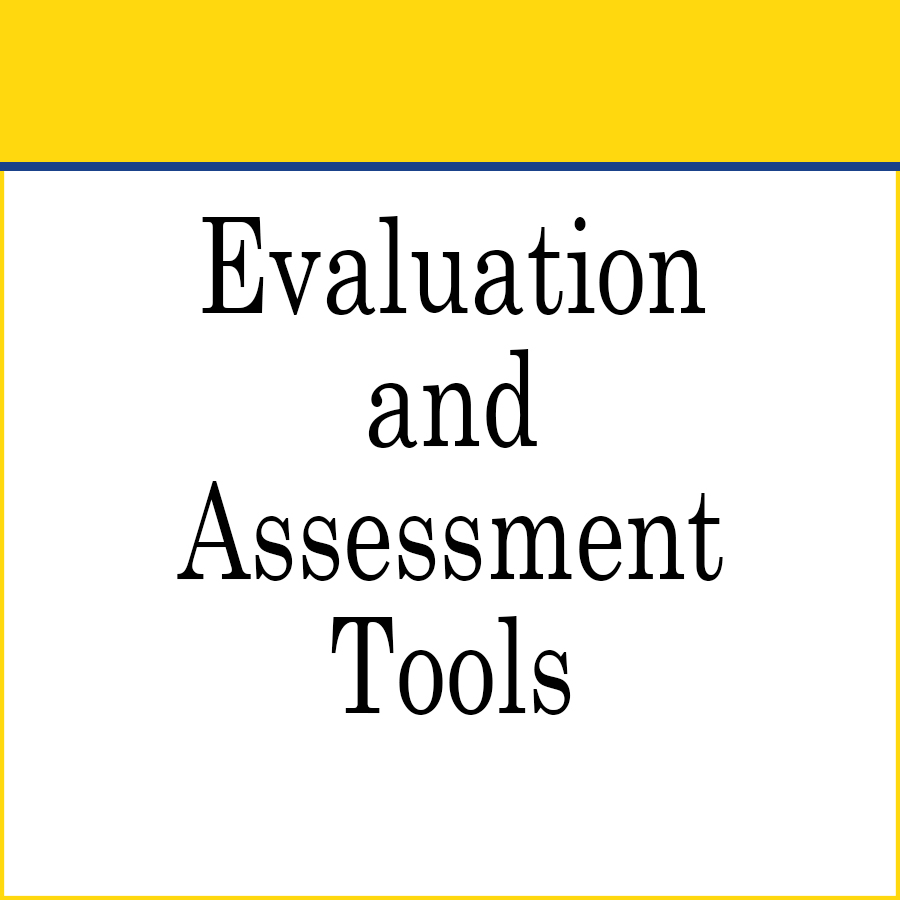 Early Intervention Evaluation and Assessment Tools link image