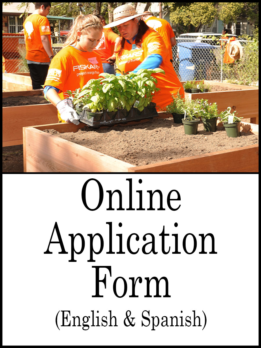 AAA mini grant online application form link image