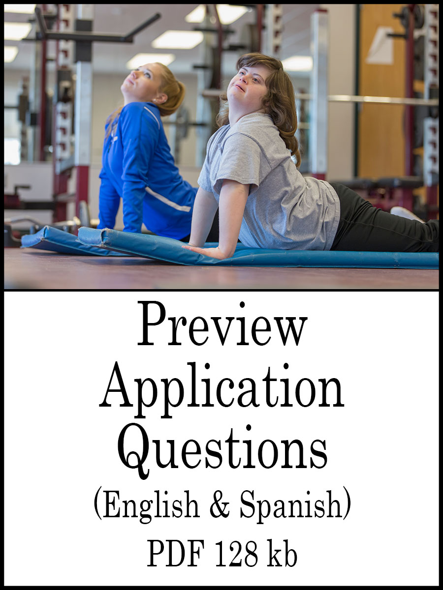 AAA mini grant preview application questions, English and Spanish 138 kb PDF link image