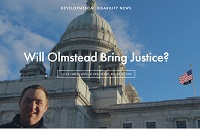 will olmstead bring justice quote over statehouse photo