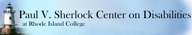 the paul v. sherlock center on disabilities